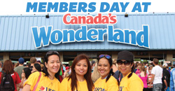 Union Member Discount Day at Canada's Wonderland