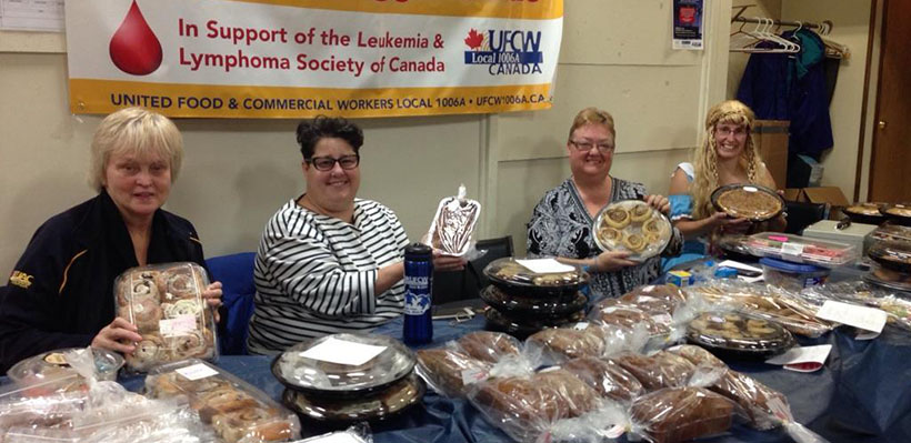 1006A holds fundraisers for Leukemia and Lymphoma Society of Canada in Ottawa and Smiths Falls