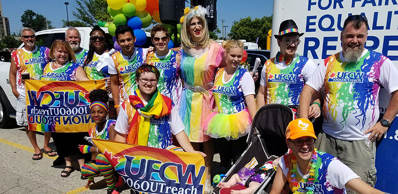 UFCW 1006A Proud to Stand Up for Workers and Equality at London Pride in Ontario