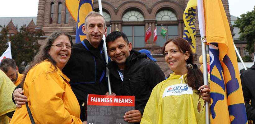 UFCW Canada Local 1006A is Proud to Stand Up for Workers' Rights