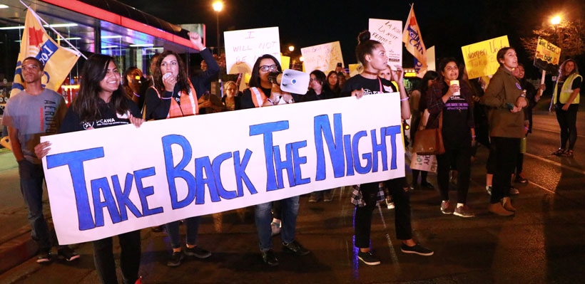 Join UFCW Canada Local 1006A at Take Back the Night on September 21