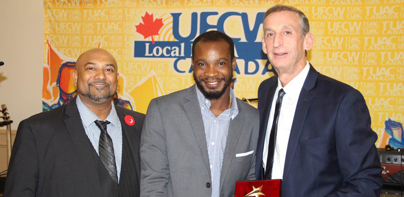 Young Worker Rechev Browne Wins Youth Community Award