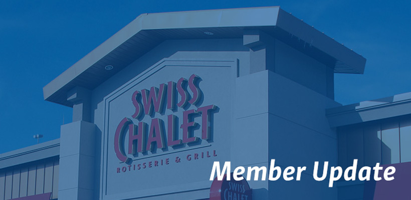Update for union members working at Local 1006A Swiss Chalet locations.