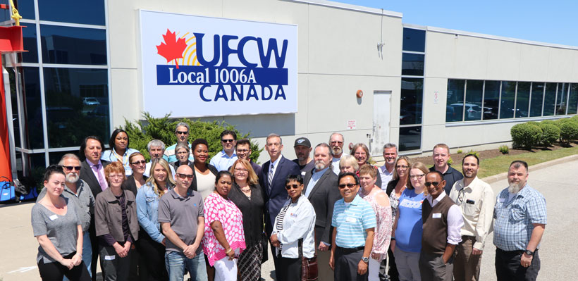 UFCW Canada Local 1006A Executive Board