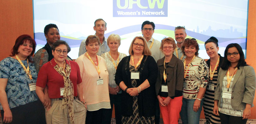 UFCW Canada Local 1006A delegates joined more than 300 activists for the 12th Biennial UFCW Women's Network Convention.