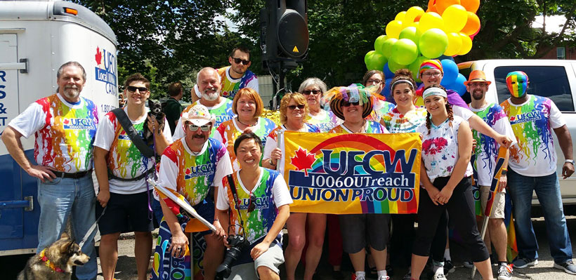 UFCW 1006A Proud to Participate in Brockville Pride