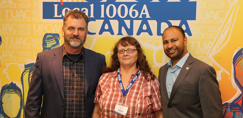 UFCW 1006A Members at Canada Catering Ratify New Union Contract