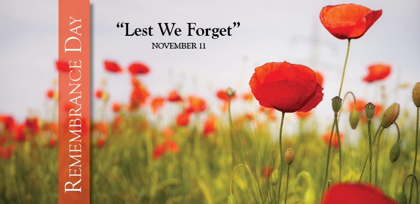Remembrance Day is November 11 - UFCW Canada Local 1006A