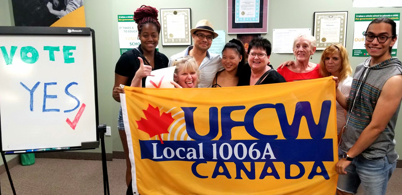 Workers at Best Western Brantford voted in favour of joining Local 1006A.
