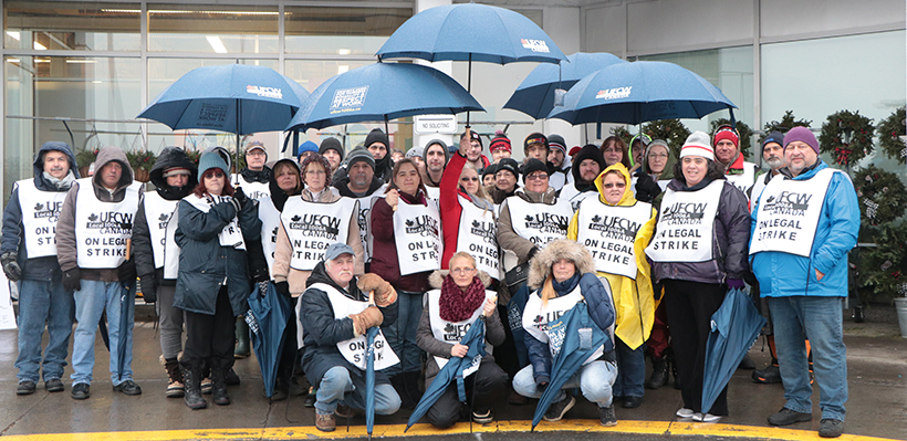 Workers Continue to March for Fairness at Baxtrom's YIG in Cornwall