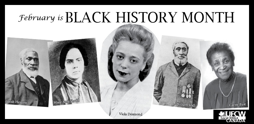 February is Black History Month – President Wayne Hanley