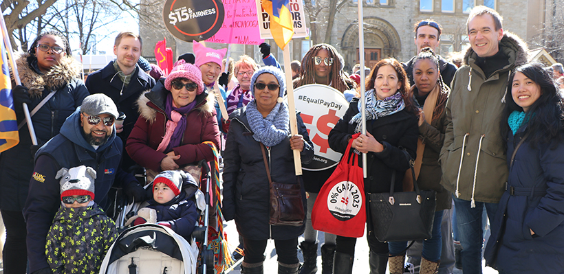 UFCW Canada Local 1006A is proud to stand up for human rights and women's rights on International Women's Day