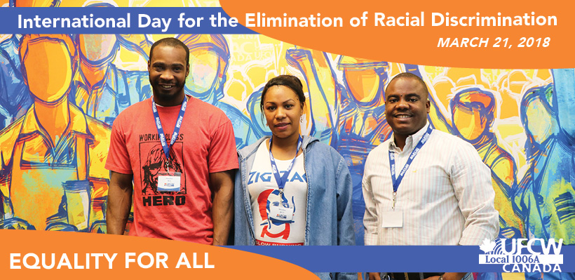 President Hanley's Message: International Day for the Elimination of Racial Discrimination