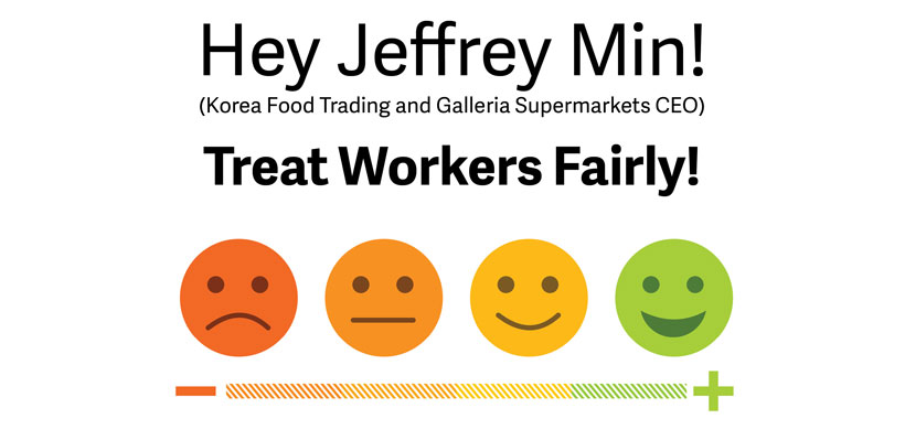 Send a message to KFT's CEO – Treat Workers Fairly!