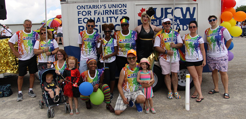 UFCW 1006A Proud to Support Pride, LGBTQ rights