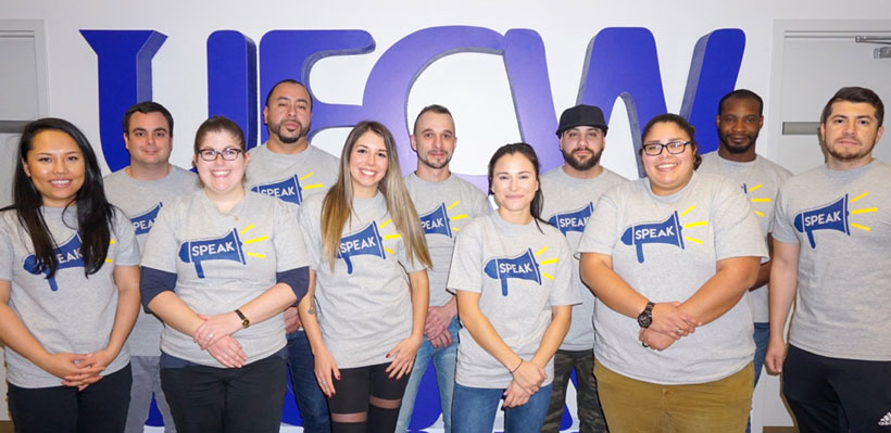 UFCW Canada members participated in the annual Youth Internship Program.