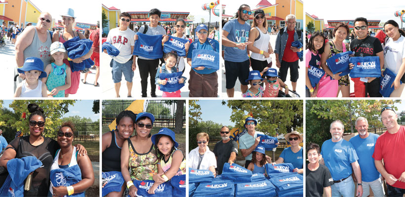 Members and family join their union for a day of fun in the sun at our annual Members' Day event.
