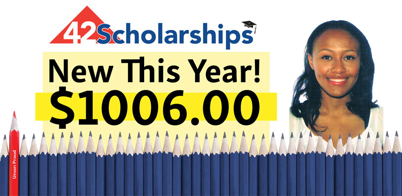 Local 1006A Expands Popular Scholarship Program
