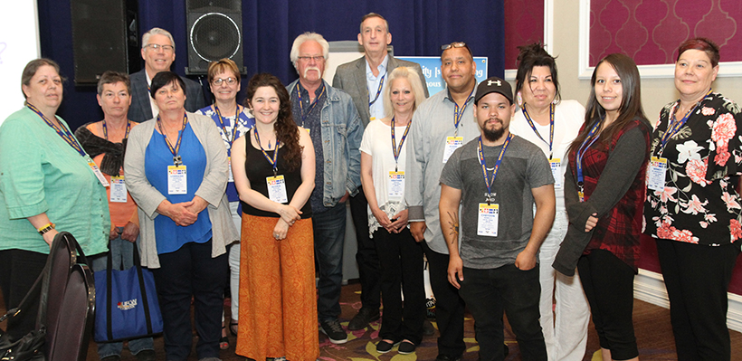 1006A Members Take Part in the 2019 Canada National Indigenous People Day Conference
