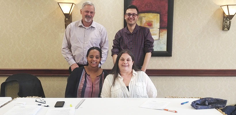1006A Members at Comfort Inn Guelph Achieve First Contract