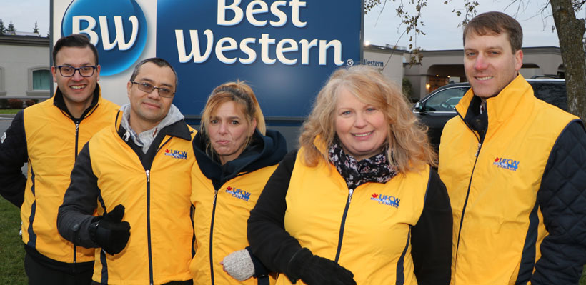 Best Western Brantford Ratify First Union Contract