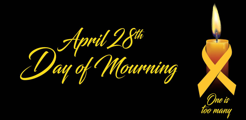 On April 28 we observe Day of Mourning