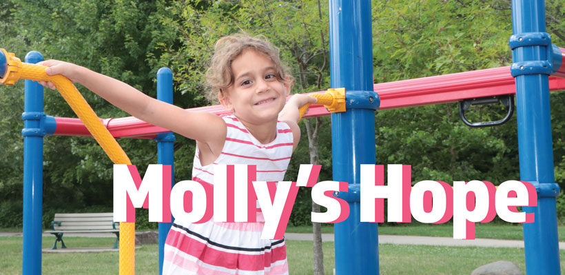 Molly's story as a leukemia survivor - UFCW 1006A fundraises for a cure