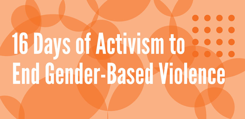 UFCW 1006A Observes 16 Days of Activism Against Gender-Based Violence