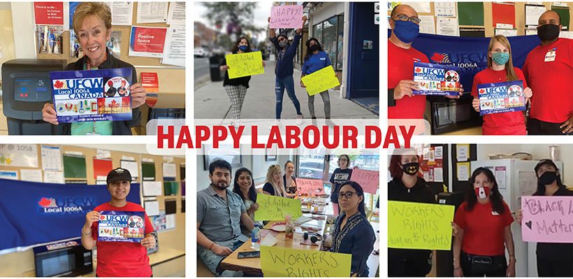 UFCW 1006A Members Celebrate Labour Day
