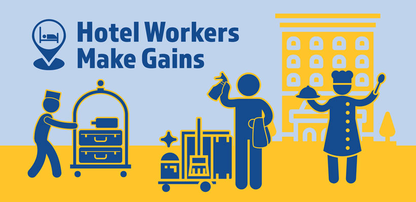 UFCW 1006A is the union for Hotel workers in Ontario.